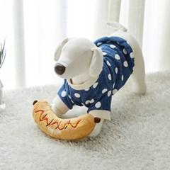 [모던하우스] 펫본 핫도그 냠냠 삑삑이 장난감