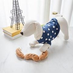 [모던하우스] 펫본) 줄줄이 3단 소세지 삑삑이 장난감