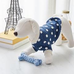 [모던하우스] 펫본) 뼈다귀 로프 장난감 블루
