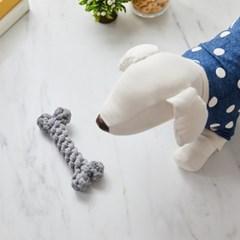 [모던하우스] 펫본) 뼈다귀 로프 장난감 그레이