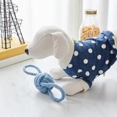 [모던하우스] 펫본) 튼튼한 고리로프 장난감 M 블루