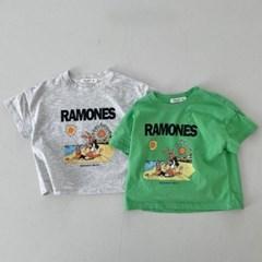 라) 라몬즈 아동 반팔티