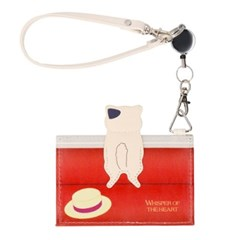 [귀를 기울이면] 고양이시리즈(귀를_전차의문) 카드지갑