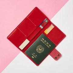 [리쥬네브] 가죽 슬림 여권지갑 LE1780