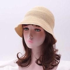 Mujer verano daily 동글이 벙거지모자 4color