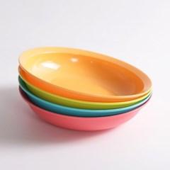 타파웨어 다용도 접시 4P 플레이팅 그릇 디저트 접시