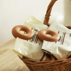 우드도넛 비닐 봉지 봉투 밀봉 클립 집게