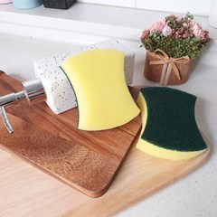 풍부한 거품 양면사용 세척 주방용 청소용 다용도 스펀지 수세미