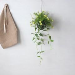 들꽃 넝쿨 조화 볼스웨그(4color)