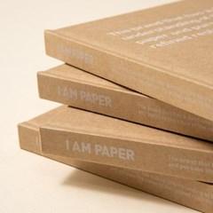 I AM PAPER 크라프트 하드커버 노트_(3086967)