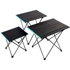 캠핑 등산 낚시 야외활동 필수품 가볍고 튼튼한 접이식 테이블
