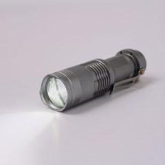 파워킹 LED 미니 손전등 줌라이트 후레쉬