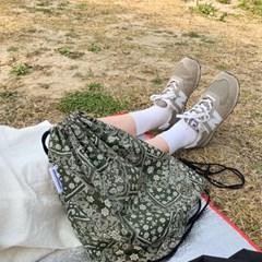 paisley string bag (khaki)
