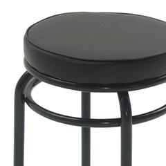 빈티지 레트로 포장마차 막걸리 철제 의자 사이드 스툴 체어 1인용