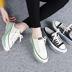 kami et muse Clear outsole backless sneakers_KM21s101