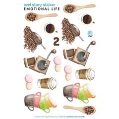 아젤스토리스티커_ emotional life set