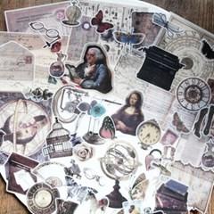 빈티지시리즈 04 중세의풍경 60조각 스티커팩