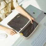 [키보드&마우스수납] 캔버스 태블릿 아이패드 파우치 (전제품호환)