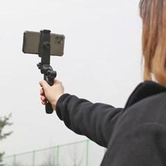 유투브 브이로그 영상촬영 스마트폰 거치 삼각대 셀카봉