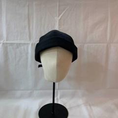 린넨 무지 기본 심플 카키 데일리 와니캡 비니 모자