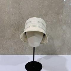 줄무늬 무지 기본 심플 챙넓은 버킷햇 벙거지 모자