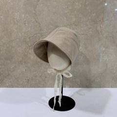 레이스 턱끈 기본 무지 패션 보넷 버킷햇 벙거지 모자