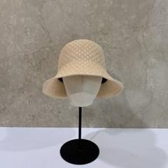 아이보리 지사 기본 챙넓은 패션 버킷햇 벙거지 모자