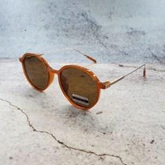 둥근 가벼운 도수없는 블랙 데일리 패션 선글라스