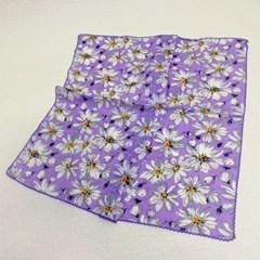 꽃무늬 면 플라워 쁘띠 미니 가방 데일리 패션 스카프