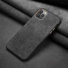 하푼 아이폰12 스페셜 무드 심플 알칸타라 케이스