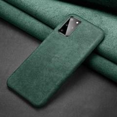 아이폰12프로맥스 스페셜 무드 심플 알칸타라 케이스