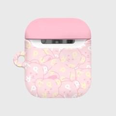 Soft together bear-pink(에어팟 하드)_(1894538)