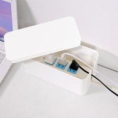 멀티탭 케이블정리함(23cm)/ 전선정리 멀티탭정리함