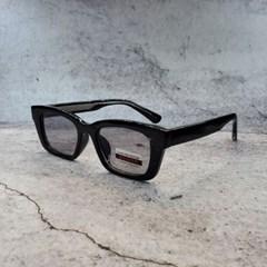 가벼운 도수없는 사각 블랙 데일리 패션 선글라스