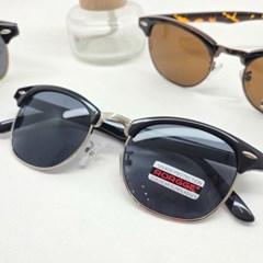 반테 블랙 가벼운 도수없는 데일리 패션 선글라스