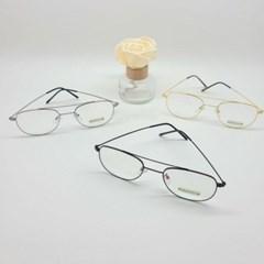 보잉 가벼운 심플 도수없는 블랙 실버 데일리 안경