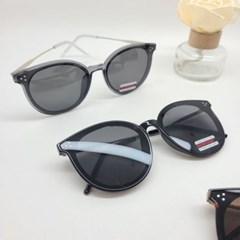 기본 둥근 도수없는 가벼운 데일리 패션 선글라스