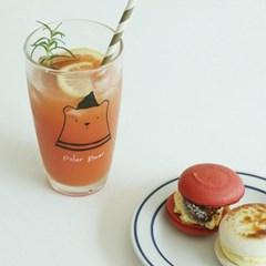 [1+1] 홈카페 일러스트 글라스 컵 10종 모음