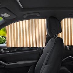 차량 햇빛차단 마그네틱 커튼콜 햇빛가리개 4장세트