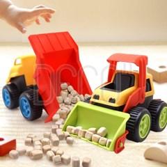 모래놀이 꼬마 미니 트럭 2P세트 중장비