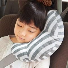 차량용 안전벨트 줄무늬 쿠션 베개 204312