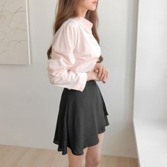 여성 기본남방 화이트셔츠 블라우스