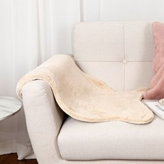 솔리드 밍크 포인트 러그 에코 양털 퍼 사계절 매트