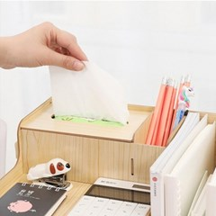인테리어 책상정리 우드선반 모던라이트 조립식선반