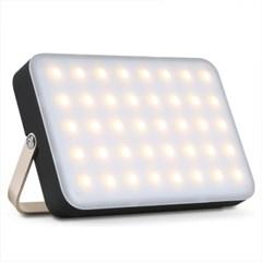 캠핑 차박 LED조명 랜턴 40개LED/3컬러/4단밝기/15000mA대용량배터리