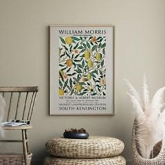 전시회 포스터 그림 액자 윌리엄모리스 레몬