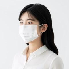 일회용 마스크 - 핑크/민트/블랙/화이트