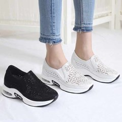 kami et muse Airsole glittering sneakers_KM21s115