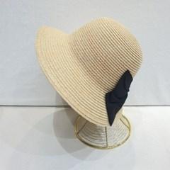 챙넓은 꾸안꾸 트임 리본 데일리 버킷햇 벙거지 모자