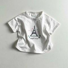 디그린-시눈꽁 랜드마크 아동 반팔 티셔츠